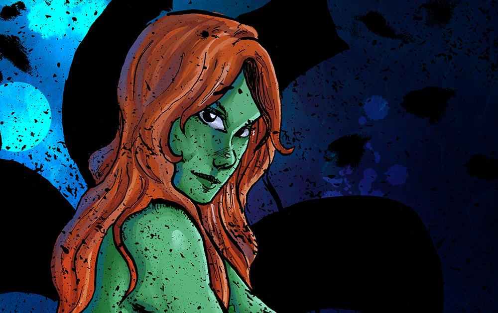 Poison Ivy & Korra